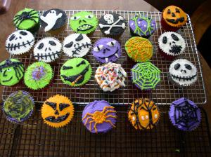 Finished cupcakes