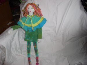 Colorful doll