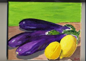 Eggplants and Lemons