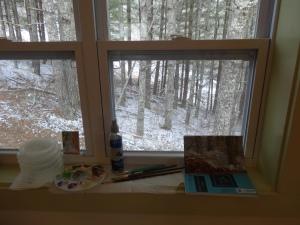 Windowsill set-up