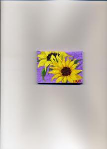 Itty Bitty Sunflowers