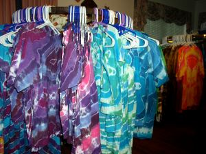 Tie-dye in the Living Room