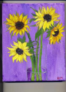 More Recent Sunflowers