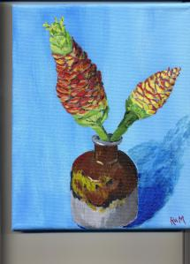 Pine Cone Lilies