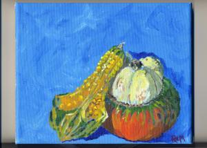Gourd and Turban Squash