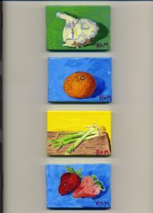 Four Tiny Paintings