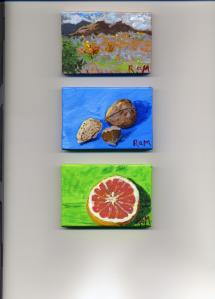 Three Tiny Paintings