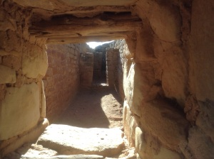 In the Sun Temple, Mesa Verde National Park