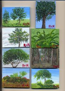Eight More Tiny Paintings