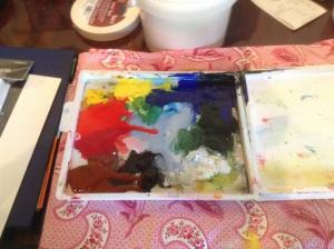 Palette Mess