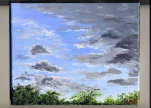 April Clouds