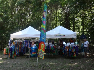 Our Tie-dye Booth